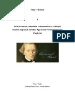 Transcendental-Estetiğin-Kopernik-Devrimi-Yorumu