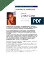 Breve Presentation Du Bouddhisme