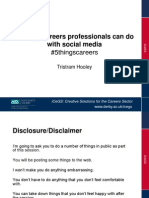 5 things careers professionals could do with social media