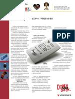1-catálogo mezclador Videonics MXpro