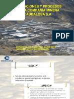 Minera Caudalosa s.a. Exposicion-Ing. Barja