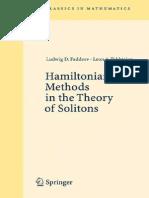 Ludvig D. Faddeev, Leon Takhtajan, A.G. Reyman Hamiltonian Methods in the Theory of Solitons 2007