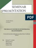 Ps402 Seminar Presentation