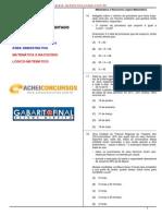 TRT24 - Técnico Judiciário 2011 - RLM FCC GF