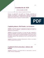 Constitucion de 1838