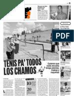 Tenis en Los Colegios Venezuela Nov 2013