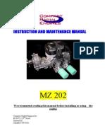 MZ Instruction and maintenance manual