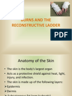 Burns and the Reconstructive Lader