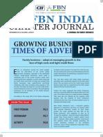 Cii-fbn India Chapter Journal - Nov 2012 (Print Ready) Kanishka Arumugam , Deccan Pumps , Forbes Marshall .