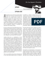 Dr.'s Newsletter Red Palm Oil