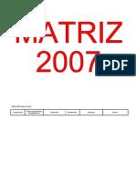 matriz 2007