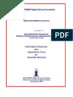 Inflibnet Membership Form