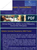 Know About Spinal Surgery of Carvical-Neck by Dr Aron(Orthopedic Doctor)