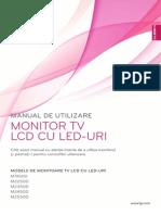 Manual MonitorTv LG LED