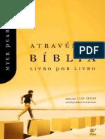 Através Da Bíblia Livro Por Livro - Myer Pearlman