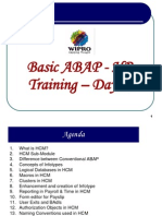 Basic HR ABAP Training - Day 1