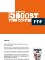 15 Ways to Boost Your Confidence