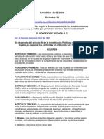 Acuerdo 138 de 2004