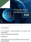 Jornalismo Online_Texto Para Online