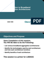 Cisco Networkers 2006 - AGG-1020 - Introduction to Broadband Aggregation Architectures