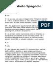 Alfabeto Spagnolo