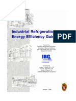 Industrial Refrigeration Systems Energy Efficiency Guidebook (TOC)