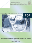 Vol.1 Issue 2, Complete Journal, International journal Of Engineering Research and General Science