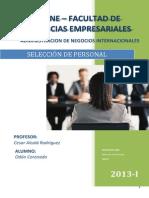 Seleccion de Personal en La Empresa