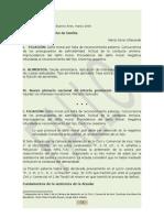 Jucio Ejecutivo de Alimentos Act-marzo-2009
