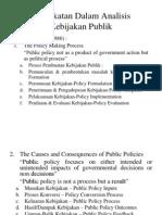 Pendekatan Analisis Kebijakan Publik
