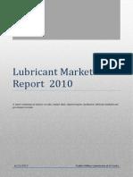 Lubricant Market Report 2010