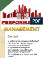 184084127 Performance Management by Dhivya m Phil Pptx
