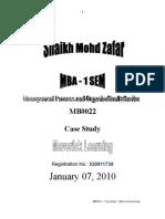 MB0022 Case Study - Maverick