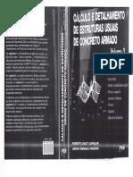 Cálculo e Detalhamento de Estruturas Usuais de Concreto Armado Volume 2 Roberto Chust Carvalho.pdf