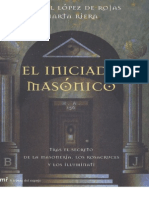 17736651 Iniciado Masonico by Gabriel Lopez de Rojas English Translation