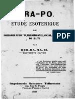 DRAPO Etude Esoterique