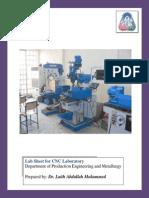 Cnc Lab Sheet