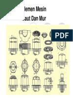 Baut Dan Mur (Elemen Mesin)