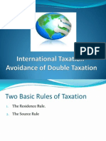 Double Taxation Avoidance Agreements- A Primar