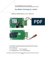 ML8022 GPRS Modem User Manual