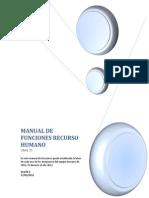Manual de Funciones Recurso Humano Oral 70