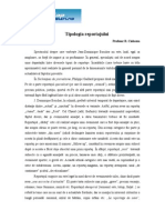 Reportajul - Tipologia Reportajului