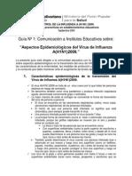 Guia 1 Escuela Influenza Definitivo 3sept2009