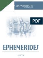 Ephemerides