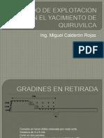 METODO DE EXPLOTACION  QUIRUVILCA.ppt