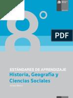Estándares de Aprendizaje Historia, Geografí-a y Ciencias Sociales 8º básico - Decreto 129_2013 (2)