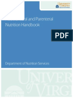 Adult Enteral and Parenteral Nutrition Book