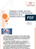 """market Study on the Dynamics of the Bradma Products In"