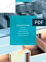 2013 Fakultaetsbroschuere Architektur Eng 01