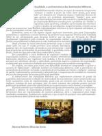 Sistemas de Gestão da Qualidade e a sobrevivência das Instituições Militares